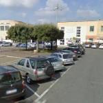 Pontinia, particolare della piazza - Google Streetview