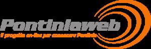 Versione attuale del logo del portale pontiniaweb.it