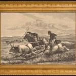 xilografica realizzata nel 1880 da Huyot