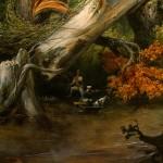 Horace Vernet (1789 – 1863): Le paludi Pontine (1833)