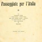 Copertina volume Passeggiate per l'Italia di Gregorovius