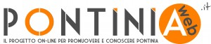 Logo pontiniaweb - versione beta