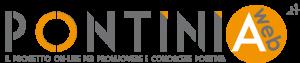 Prima versione del logotipo del portale Pontiniaweb