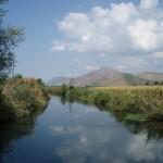 Pontinia (LT), fiume Ufente