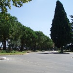 Pontinia (LT), scorcio via dei volsci