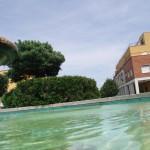 Pontinia, p.zza Indipendenza - particolare della fontana
